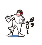 ヒップホップダンスのスタンプ3(日本)(個別スタンプ:04)