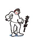 ヒップホップダンスのスタンプ3(日本)(個別スタンプ:05)