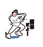 ヒップホップダンスのスタンプ3(日本)(個別スタンプ:06)