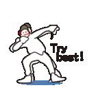 ヒップホップダンスのスタンプ3(日本)(個別スタンプ:11)