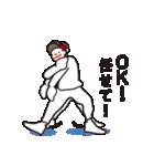ヒップホップダンスのスタンプ3(日本)(個別スタンプ:32)