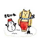 ごろごろにゃんすけの冬(個別スタンプ:08)