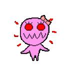 ドットキャラクターズ ピンクシャドー 2(個別スタンプ:3)