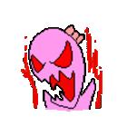 ドットキャラクターズ ピンクシャドー 2(個別スタンプ:19)