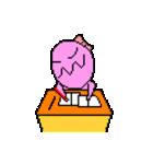 ドットキャラクターズ ピンクシャドー 2(個別スタンプ:26)