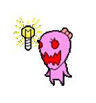 ドットキャラクターズ ピンクシャドー 2(個別スタンプ:27)