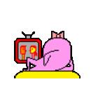 ドットキャラクターズ ピンクシャドー 2(個別スタンプ:29)