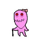 ドットキャラクターズ ピンクシャドー 2(個別スタンプ:33)