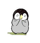 おはようからおやすみまで皇帝ペンギン(個別スタンプ:02)