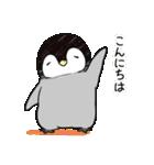 おはようからおやすみまで皇帝ペンギン(個別スタンプ:03)