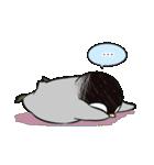おはようからおやすみまで皇帝ペンギン(個別スタンプ:06)
