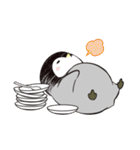 おはようからおやすみまで皇帝ペンギン(個別スタンプ:27)