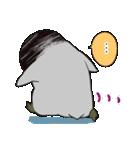 おはようからおやすみまで皇帝ペンギン(個別スタンプ:28)