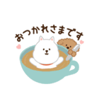 ▶︎動く!わんこ(敬語)(個別スタンプ:01)