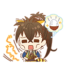 薄桜鬼×ラスカル コラボスタンプ(個別スタンプ:07)