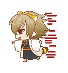 薄桜鬼×ラスカル コラボスタンプ(個別スタンプ:18)