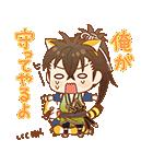 薄桜鬼×ラスカル コラボスタンプ(個別スタンプ:38)