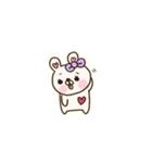 彼女専用♡【くまちー&うさちー】その1(個別スタンプ:38)
