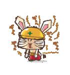 全力ウサギ公式スタンプ①(個別スタンプ:25)