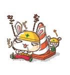 全力ウサギ公式スタンプ①(個別スタンプ:28)
