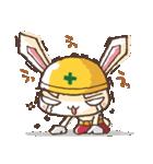 全力ウサギ公式スタンプ①(個別スタンプ:30)