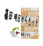 ★篠田さんの名前スタンプ★(個別スタンプ:08)