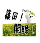 ★篠田さんの名前スタンプ★(個別スタンプ:27)