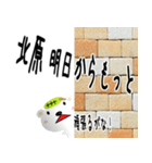 ★北原さんの名前スタンプ★(個別スタンプ:08)
