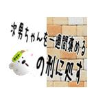★次男さん専用のスタンプ★(個別スタンプ:24)