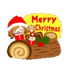 大人かわいい冬のスタンプ【Xmas&お正月】(個別スタンプ:27)
