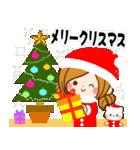 大人かわいい冬のスタンプ【Xmas&お正月】(個別スタンプ:28)