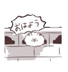 けだまいぬ(個別スタンプ:01)