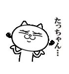 たっちゃんに送る★にゃんこ(個別スタンプ:18)