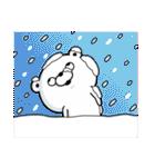 くま100% 冬(個別スタンプ:09)