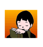 少年スタンプ【改訂版】(個別スタンプ:36)