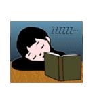 少年スタンプ【改訂版】(個別スタンプ:40)