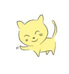 幸せな黄色い奇跡のネコ(個別スタンプ:19)