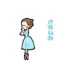 可愛く踊るバレリーナ~クリスマス編~(個別スタンプ:02)