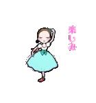 可愛く踊るバレリーナ~クリスマス編~(個別スタンプ:06)
