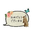 *うさぎのうさちゃん*女子専用②敬語あり♪(個別スタンプ:05)