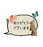 *うさぎのうさちゃん*女子専用②敬語あり♪(個別スタンプ:06)
