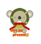 クリスマスリースアニマルズ(個別スタンプ:12)