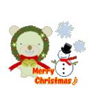 クリスマスリースアニマルズ(個別スタンプ:13)