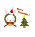 クリスマスリースアニマルズ(個別スタンプ:16)