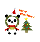 クリスマスリースアニマルズ(個別スタンプ:18)