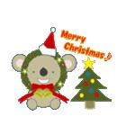 クリスマスリースアニマルズ(個別スタンプ:19)
