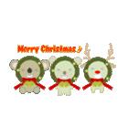 クリスマスリースアニマルズ(個別スタンプ:20)