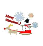 クリスマスリースアニマルズ(個別スタンプ:24)