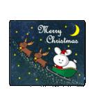 ポヨうさ クリスマス(個別スタンプ:18)