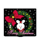ポヨうさ クリスマス(個別スタンプ:19)